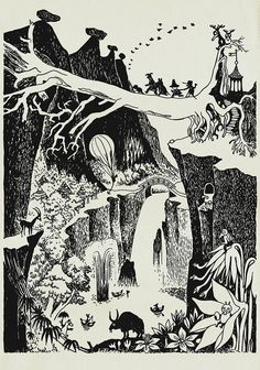Peter - Favourite Moomin illustrations by Tove Jansson. Tove Jansson, Art And Illustration, Fantasy Kunst, Fantasy Art, Les Moomins, Art Plastique, Art Inspo, Illustrators, Fairy Tales