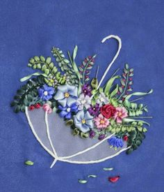 Embroidery Machine Miami Fl unlike Embroidery Stitches Advanced. Ribbon Embroidery Kits Michaels during Silk Ribbon Embroidery Tutorial Iris. Ribbon Embroidery Lily Of The Valley Ribbon Embroidery Tutorial, Silk Ribbon Embroidery, Crewel Embroidery, Hand Embroidery Patterns, Embroidery Kits, Embroidery Designs, Embroidery Supplies, Ribbon Art, Ribbon Crafts