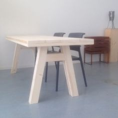 Buitentafel steigerhout | TAFELS binnen / buiten | Designwebwinkel