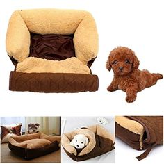 Multifunction Dog Cat Bed Cushion Puppy Sofa Couch Mat Kennel Pad => Save this wonderfull item : Cat condo