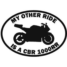 """RIDE HONDA FURY MOTORCYCLE Vinyl Decal Sticker-8/"""" Wide White Color"""