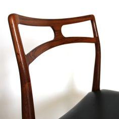 Beautiful Rosewood Johannes Andersen Dining Chair