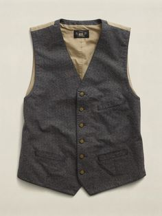 Cotton Striped Vest. Ralph Lauren