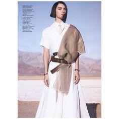 #tbt Our Birchbark and leather bracelets from @voguechina  May 2012 cover shoot! Thank you:  @josholins   @arizona_muse  stylist @therealnicolettasantoro  set designer @kadulennox  @makiryoke  @timhowardmanagement  @shonju @julianwatsonagency . . .  #voguechina #josholins #arizonamuse #nicolettasantoro #kadulennox #makiryoke #shonju #donnakaran #lanvin #rochas #thombrowne # #leatherjewely #madeinnewyork #womenowned #silverjewelry