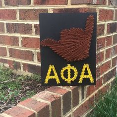 Alpha Phi Alpha String Art by MaisynsCreations on Etsy