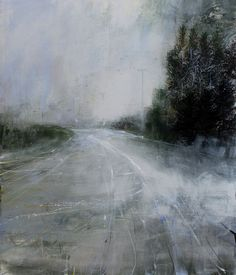 Patricia Burns, North Road 6, oil on canvas, 106 x 92 cm, 2012