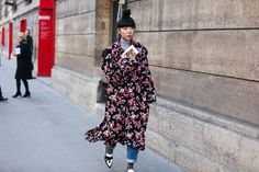 Paris Couture Street Style - Best Street Style Pictures | Teen Vogue