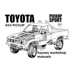 Shop official Haynes Workshop Manual Toyota Sport Black Men's T-Shirt. Make Ready, Jaguar E Type, Black Men, 4x4, Toyota, Digital Prints, Manual, Monster Trucks, Workshop