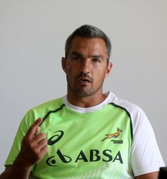 Neil Powell during the Springbok Sevens squad announcement at Stellenbosch Academy of Sport on November 2015 in Stellenbosch, South Africa. (Photo by Carl Fourie/Gallo Images) World Rugby, World Of Sports, Rugby Pictures, South African Rugby, Rugby Sevens, Second World, Announcement, Squad, November
