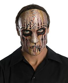 Slipknot Joey Heavy Metal Band Scary Latex Adult Halloween Costume Mask * BEST VALUE BUY on Amazon