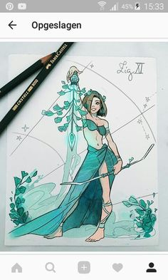 The Zodiac Archers- Aquarius I dont know the artist but who ever she is she has talent amazing talent. Her artwork I just love 😍💕 sternzeichen verseau vierge zodiaque Zodiac Art, Zodiac Signs, Zodiac Horoscope, Character Inspiration, Character Art, Gabriel Picolo, Art Manga, Art Sketchbook, Love Art