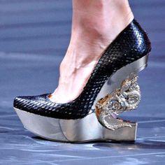 Dragon Wedges I would sooo wear these