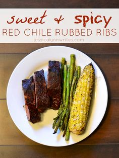 Sweet and Spicy Red Chile Rubbed Ribs #GetFiredUpGrilling #GetUpandGrill #WeaveMade #ad