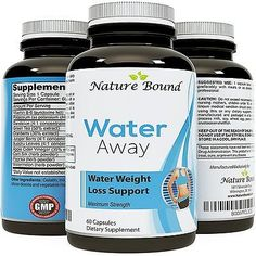Water Pills for Bloating Premium Weight Loss Supplement for Women and Men R...