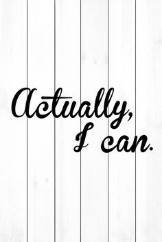 Actually I Can - Marmont Hill