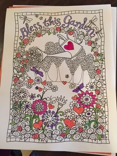 Take A Welcome Break To Enjoy The Beautiful Artwork From Fans Of Inkspirations Coloring Books And Get Inkspired Make Your Mark On World