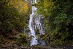 """Mingo Falls -  Located on Eastern Cherokee Reservation in Charleston NC...""""an ethereal experience"""""""