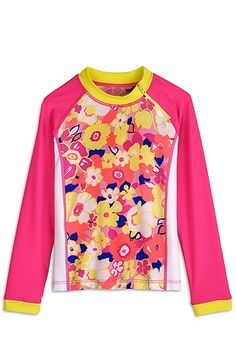 403dcc577283b Zippy Girls Rash Guard - Shop Girls Rashguards - Coolibar: Sun Protective  Clothing - Coolibar