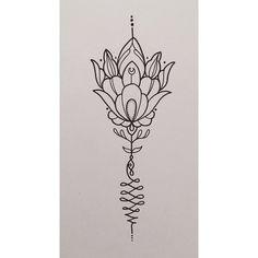 #available #tattoo #drawing #art #mandala #flower #unalome #girly #sketch