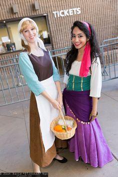 Cinderella and Esmeralda | Amazing Arizona Comic Con 2014 #cosplay