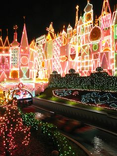It's a Small World at Christmas...nothing beats it!