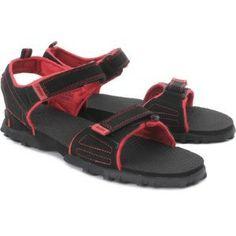 Puma Photon Jr-Black Red Casual Sandals @ 907
