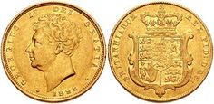 £ 1 Gold British Sovereign. The sovereign is a gold coin of the United Kingdom, with a nominal value of one pound sterling. Minting of sovereigns began in 1817 and continues to the present. These coins portray the reigning monarch on the obverse, and Pestrucci's St. George slaying the Dragon on the reverse.
