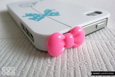 Cute phone accessory -- bow tie