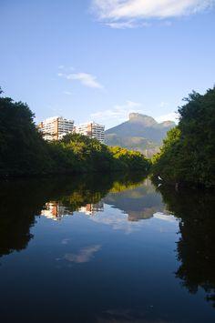 Marapendi River, Barra da Tijuca, Brazil.