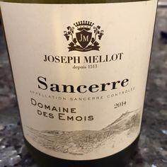 El Alma del Vino.: Domaine Joseph Mellot Domaine des Emois 2014.