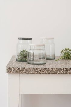Fantastic glass containers from Nordstjerne
