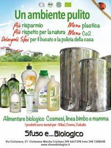 Sfuso e Biologico è un #negoziobio a Civitanova Marche che vende anche online:  http://www.negozibio.org/sfuso-biologico-prodotti-bio-civitanova-marche/
