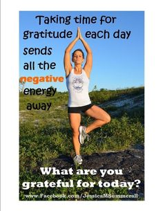 Take time for gratitude each day