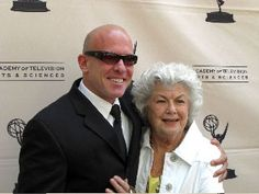 Tim Talman and Barbara Hale