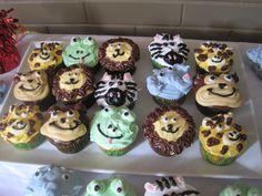 Ian's First Birthday cupcakes