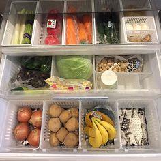 入れるだけで整う!冷蔵庫の整理は、プラケースにおまかせ | RoomClip mag | 暮らしとインテリアのwebマガジン