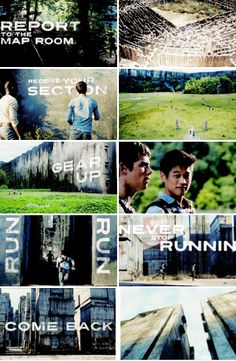 Never Stop running.......if we survive we do it all over again the next day                     -Minho