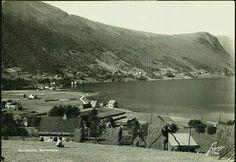 Møre og Romsdal fylke Vanylven kommune Syvde Syvdsbotn Oversikt fjordbotn A6  utg. Lystad 1950-tallet