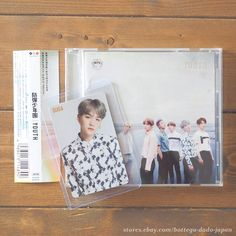 BTS YOUTH / SUGA official photo card + CD Japan ver. K-POP bangtan boys