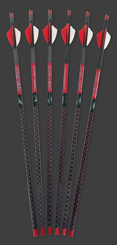 Parker Bows - RED HOT High Velocity Carbon Arrow