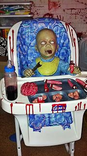 Love that bottle :) Zombie Nursery