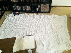 Antropologie hack - Cirrus Duvet DIY bed cover with instructions - a little advanced for the average sewer