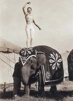 Russell Bros. Circus 1936