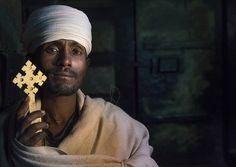 Reverend Taklu Melkamu, Yemrehana Krestos Rock Church, Lalibela, Ethiopia by Eric Lafforgue on Flickr.