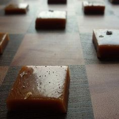 Sourwood Honey Salted Caramels - Just as great when made with regular honey, these caramels are smooth, rich, and easier than you think!