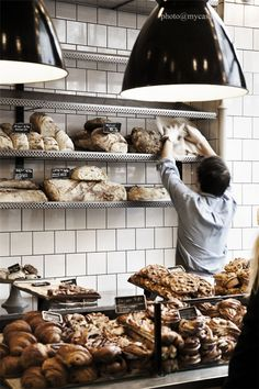 Fabrique is a chain of traditional wood-fired bakeries that are located throughout central Stockholm.