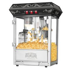 Purchase Great Northern Popcorn Black Good Time Popcorn Popper Machine, 8 Ounce from Destination Home on OpenSky. Share and compare all Kitchen. Best Popcorn Maker, Popcorn Cart, Popcorn Supplies, Movie Theater Snacks, Great Northern Popcorn, Popcorn Company, Sweet 16 Themes, New Homeowner, Safety Glass