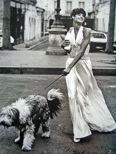 Vogue US - Paris Couture - Linda Evangelista - Avr 1989