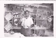 Mπακάλης.  a  grocer's Greece Pictures, Old Pictures, Old Photos, Old Photographs, Athens Greece, Greek Life, Documentaries, The Past, Memories