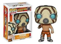 From 2K Games' Borderlands 2 video game, it's a Psycho! These deranged maniacs provide the frontline of defense for hostile bandit groups. Take a walk on the evil side with the Borderlands Psycho Pop! Vinyl Figure, which measures approximately 3 3/4-inches tall.